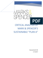 Mark & Spencer - from more green to extra green