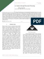 Digital Forensic Analysis through Document Clustering