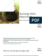 Recharge Well Primer