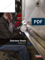 Welding StainlessSteel Lincoln