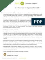 Planejamento Curso Federal Juiz Federal e MPFMAR 2017