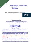 Light Efficency Egypt Case Dec 2004