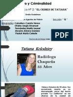 Crimen de Tatiana