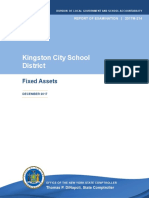 Kingston City School District / Fixed Assets, December 2017