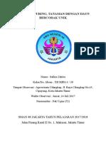 Artikel Ilmiah Budidaya Puring XII a 4