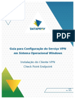 Manual de Instalacao VPN Check Point Endpoint Windows NovaMarca