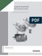 Sensor de Presion Siemens