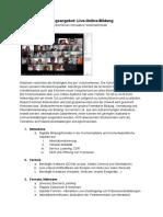 Professionalisierungsangebot _Live Online_ in Der Hochschullehre_PH