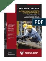 Boletín Reforma Laboral