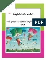 Plan Anual de Lecturas Complementarias 2018