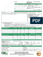 ADR Reporting Form FDA