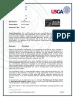 USGA 2017 Letter