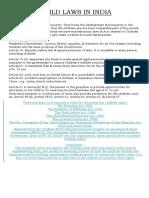 3. Constitutional Provisions in India