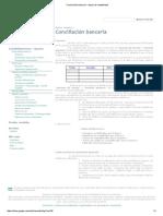 Conciliación Bancaria - Apoyo de Contabilidad