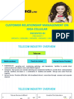 CRM in Idea Cellular