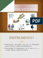 Instrumento y Validacion