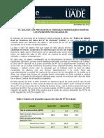 El informe de la UADE
