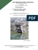 Dossier Le Acque Di Origine Carsica Una Risorsa Strategica