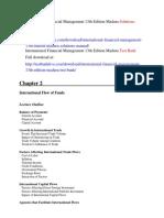 International Financial Management 13th Edition Madura Solutions Manual