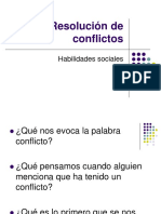 RESOLUCION DE CONFLICTOS .ppt