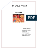 CRM 5 Group 6 Dominos(1)(2)