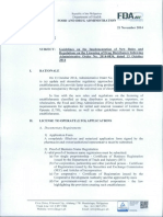 FC2014-026 - Guidelines on the Implementaton of New Rules and Regulation on the Licensing of Drug Distributors following AO 2014-0034.pdf