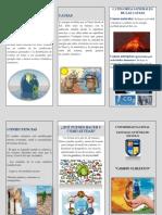 Qué Es Cambio Climático (1)