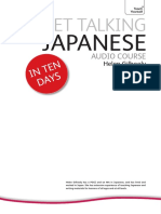 Get Talking Japanese Coursebook