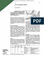 Fistula Retovaginal Adquirida Em Recem Nascidos