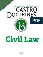 LCBO de Castro Doctrines Civil Law