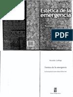 Laddaga, R. Estética de La Emergencia (Introducción)