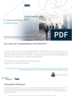 Empleabilidad 2017 Resultados Generales