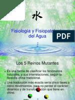Fisiopatologia Agua