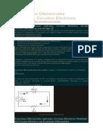 Ecuaciones Diferenciales Aplicadas - Circuitos