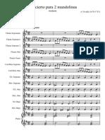 Concierto Para Dos Mandolinas Vivaldi