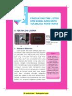 Bab 2 Produk Perakitan Listrik Dan Model Bangunan Teknologi Konstruksi
