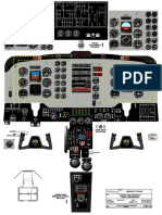 FNPT II Cockpit Drawing