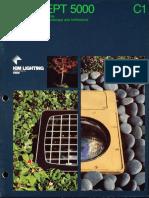 Kim Lighting Concept 5000 Series Brochure 1982