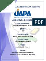 Tarea 6 Derecho Administrativo 10-12-2017
