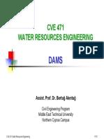 CVE 471 - 3 Dams