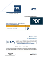 Organizacion Industrial Tarea