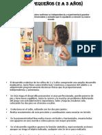 Presentacion Niños 2 a 3 Años
