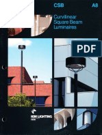 Kim Lighting CSB Curvilinear Square Beam Brochure 1987