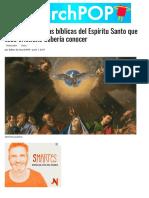 13 características bíblicas del Espíritu Santo que todo cristiano debería conocer   ChurchPOP