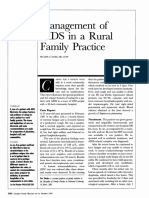 Management of AIDS in a Rural