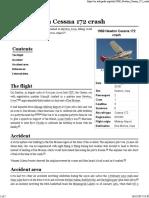 1969 Newton Cessna 172 Crash - Wikipedia