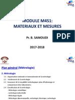 Cours Métrologie 2017-2018