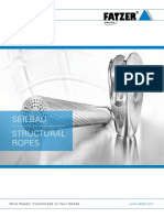 FATZER Seilbau Structural Ropes Metrisch 02 2017 Web de En