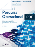 Operational Research - Exercicios Resolvidos
