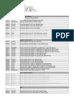 Lista de Precios Abril 2013
